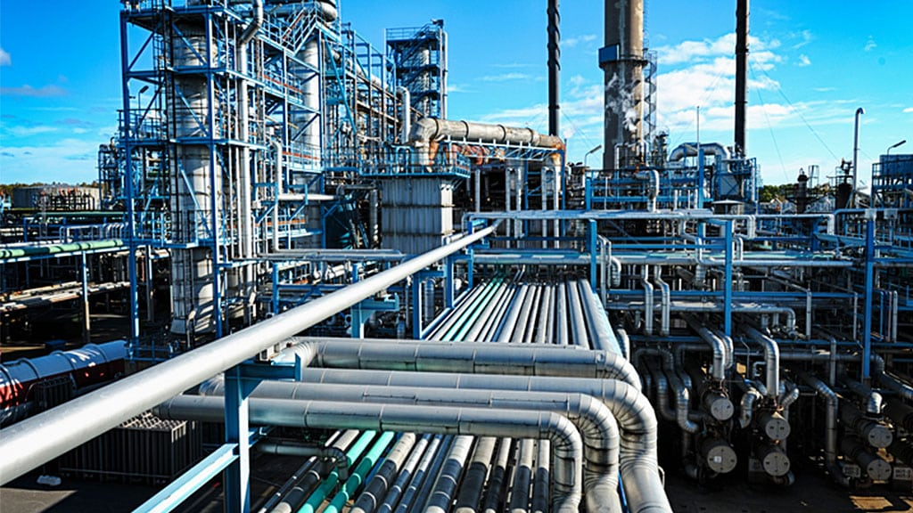 The petrochemical industry is a good fit for professionals with CAD training