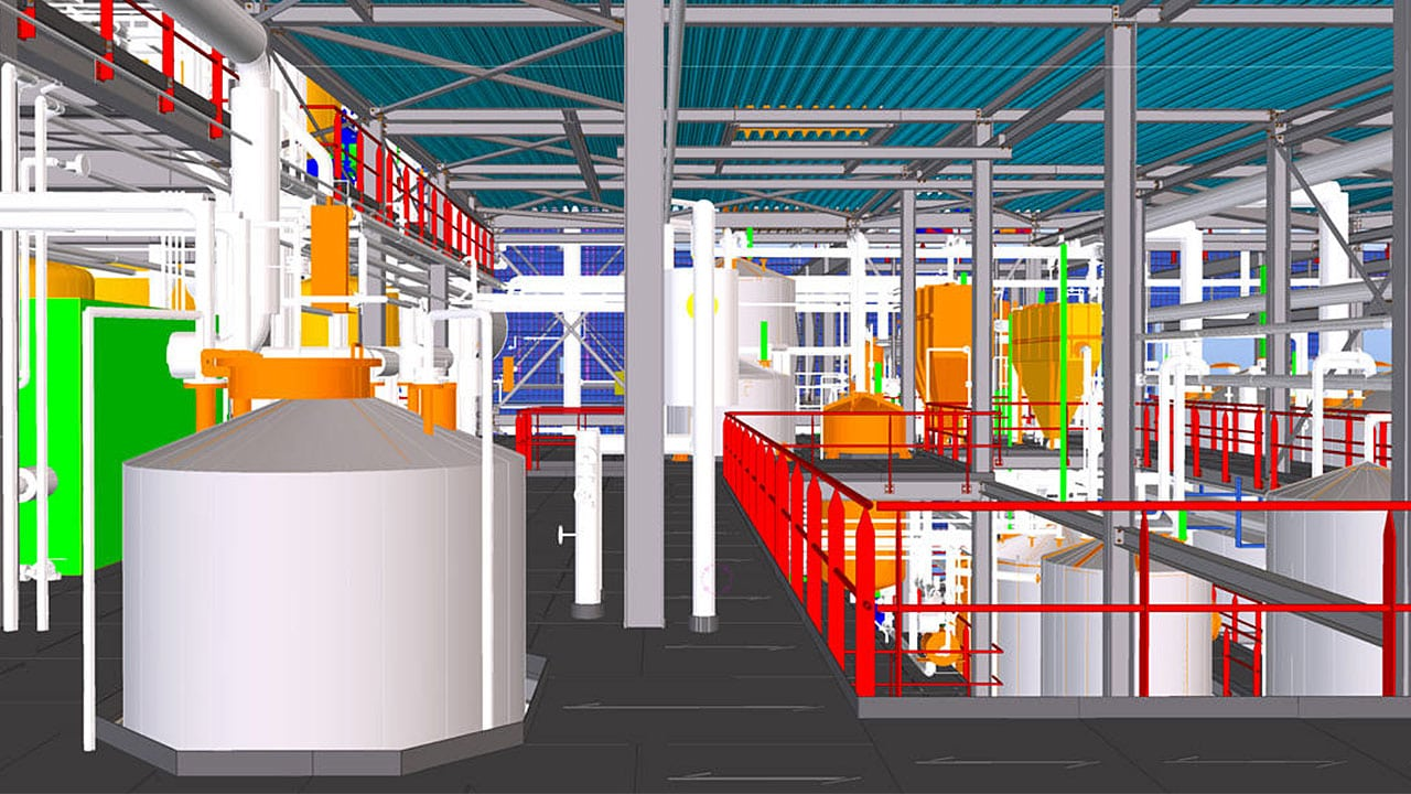 Today, architectural projects big and small often use BIM for planning and design