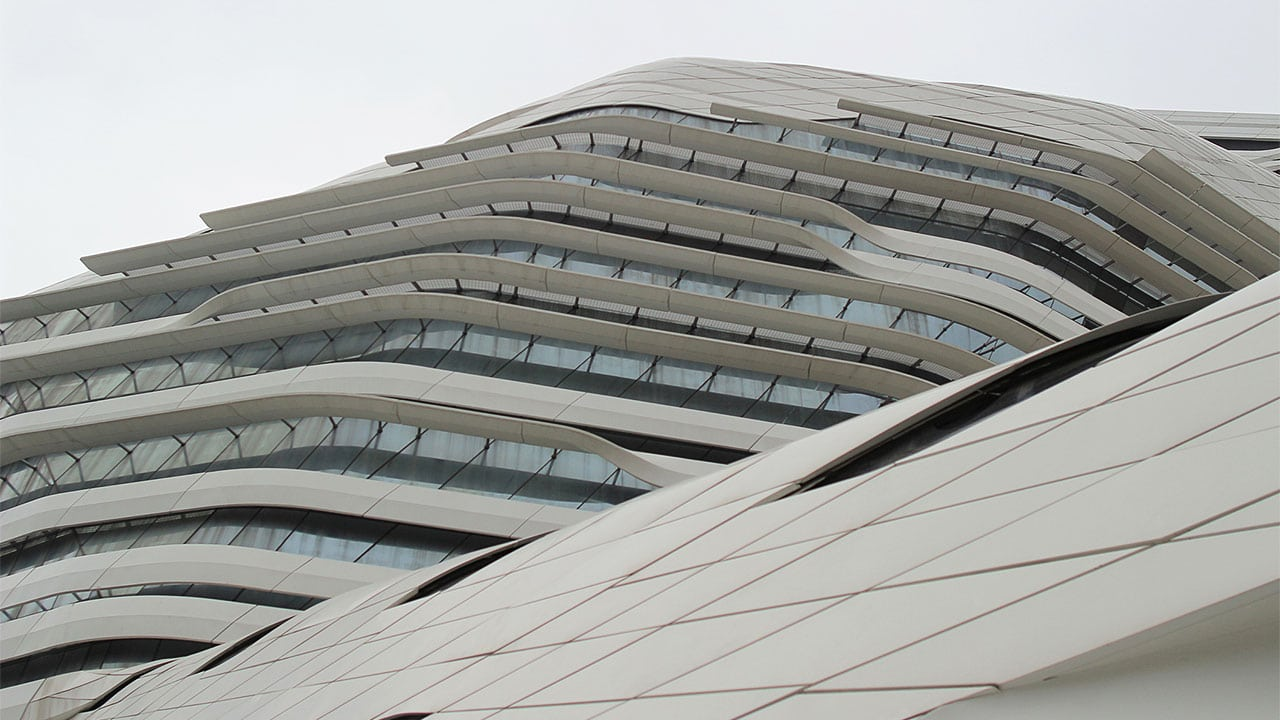 The Jockey Club Innovation Tower is only one of the many unique neo-futuristic designs by Hadid
