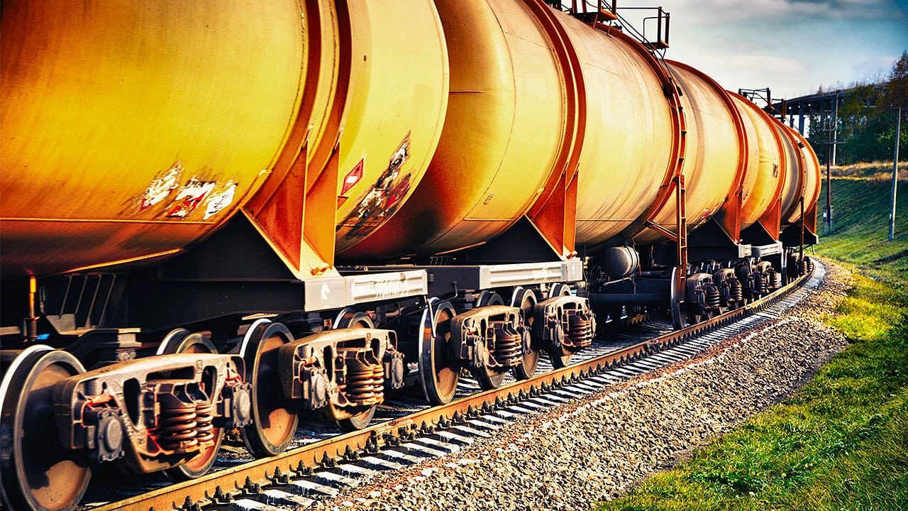 Pipelines may be a cleaner method of transporting petroleum products than railways